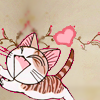 ocelotish: Chi the cat (from Chi's Sweet Home) looking happy with a heart (Chi <3)