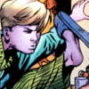amazing: franklin richards kicking the air like a superhero ([ff] supah~)