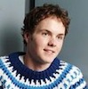 bookblather: A picture of Paul Campbell in a sweater smiling offscreen. (in the heart: jake)