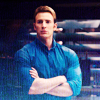 muccamukk: Steve standing with his arms folded, looking disapproving. (Avengers: Judgy Arms)