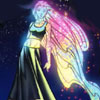 skyfyre: Karolina Dean from Runaways, flying and wearing a pretty dress (where and who I want to be)