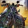 crazyfurries: bordertown vine motorcycle (fiction, bordertown)
