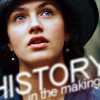 """kristenmurphy: Sybil from Downton Abbey with text: """"History in the making"""" (Default)"""