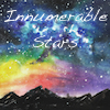 innumerable_stars: rainbow stars with mountains underneath (rainbow stars)