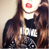 ilaysio: (stock: red lips, 2)