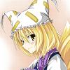 faithful_kitsune: Shikigami of the youkai of boundaries (default, pleasant)