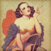 gelydh: (Pin Up | vintage smoke)