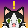 ladyofnonsequitur: (Purple/Yellow Cat Icon) (Default)