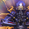 orbislife: screenshot of Zenyatta's Transcendence highlight intro (Gaze into the iris)