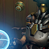 orbislife: screenshot of Zenyatta with his face mostly out of frame (There is disquiet in your soul)