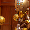 orbislife: screenshot of Zenyatta looking to the side (Your will is strong my friend)