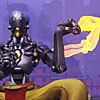 orbislife: screenshot of Zenyatta's applause emote (You have done well)