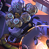 orbislife: screenshot of Zenyatta's Harmony and Discord highlight intro (Death is whimsical today)