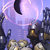 orbislife: screenshot of Zenyatta's Harmony and Discord highlight intro (I dreamt I was a butterfly)