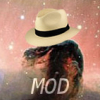 "extrapenguin: Picture of the Horsehead Nebula, with the horse wearing a hat and the text ""MOD"". (ssmod)"