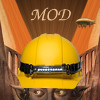 "extrapenguin: A manip of the cover of The Goblin Emperor, with Maia wearing a hard hat and the only text being ""MOD"". (tgemod)"