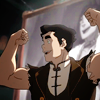 sediments: (bolin and showing off those guns!)