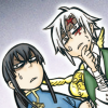 enemytosleep: Two boys with disbelieving looks (Allen + Kanda = Wuh?)
