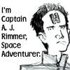 reddwarfer: Rimmer art (Red: Space Adventurer)