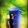 pinkandyellow: (Five - Hat - TARDIS)