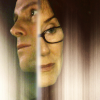 skieswideopen: Lee Adama & Laura Roslin from Battlestar Galactica (BSG: Lee & Laura)