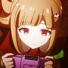 caramarie: Icon of Nanami with her handheld. (nanami gaming)