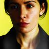 aurumcalendula: Shaw with a yellow background (Sameen in yellow)