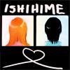imlithing: ishihime heart, backs of heads (ishihime)