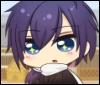 impracticaldemon: Saitō Hajime, a character in the mini anime Hakuouki Otogisoushi (hakuoki)