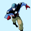 beradan: Icon: image of Captain America taken from the comic book Captain America: The Fighting Avenger (Default)