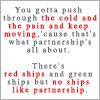 ride_4ever: (dS - you gotta push through - partnershi)