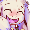 justletmewin: The happiest Asriel in the world. (Squee!)