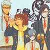 spiralicious: Kuroshitsuji Characters in School Garb (Kuro Geek)