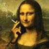 spiralicious: Smoking Mona Lisa (Mona Lisa)
