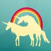 spiralicious: Unicorns with a Rainbow (Unicorns)