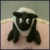 calimon1991: (cake, fondant, sheep)