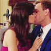 okayawesome: barney and robin making out (barney and robin are the ultimate brotp)