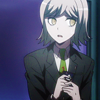 mikogalatea: Ryouta from Dangan Ronpa 3, glancing anxiously to one side while clutching his phone close to his chest with both hands. ([DR3] Ryouta)