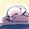 punful: (bone tired)