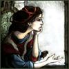 meri_oddities: default - Woman looking out a window (Default)