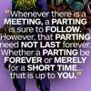 textsfrom: (Meetings &Partings)