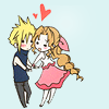 inuyatta: (Cloud/Aerith - adorable)