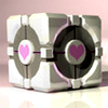 miang: The Weighted Companion Cube, Portal: Rats, it's still pink. (companion cube - loyalty)