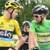 naraht: Chris Froome and Peter Sagan chatting (other-HelloFroomey)