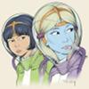 extrapenguin: Yoko Tsuno & Khâny (yoko tsuno)