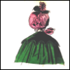 zelleforet: (1830s green capelet, pink bonnet)
