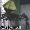 bugsndaffy: (Party On - Merovingian & Penemuel)