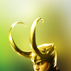 yourlibrarian: Loki's horns peek over the edge of the icon (AVEN-LokiHornPeek-Zugma.PNG)