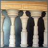 klgaffney: A row of pillars, or a row of scholars all facing each other with heads inclined. (academia in context)