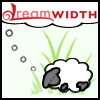 kaberett: A Dreamsheep in long grass, as of Pokemon Sightings. (DreamPokeSheep)